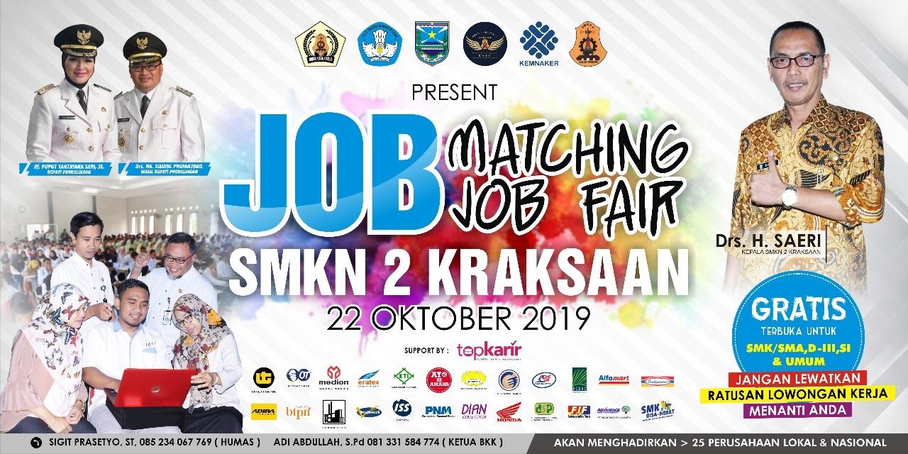 Job Matching SMKN 2 Kraksaan